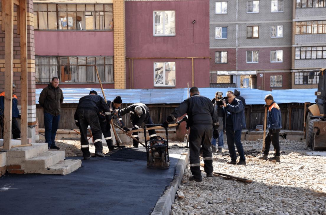 В Костроме в рамках регионального механизма поддержки дольщиков завершается строительство еще одного проблемного дома